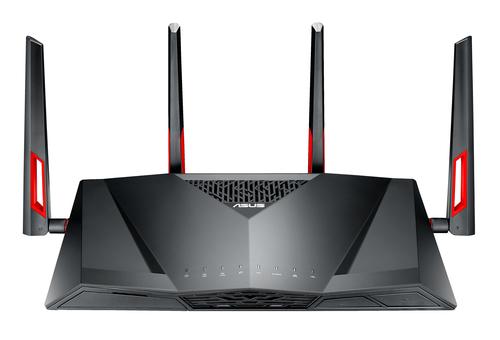 ASUS DSL-AC88U wireless router Dual-band (2.4 GHz / 5 GHz) Gigabit Ethernet Black