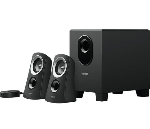 Logitech Z313 2.1kanalen 25W Zwart luidspreker set