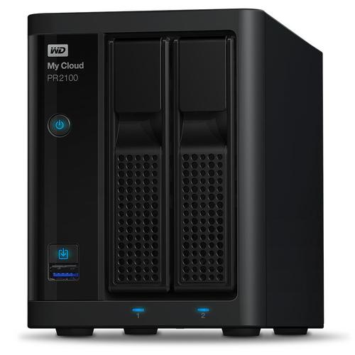 Western Digital My Cloud PR2100 NAS Desktop Ethernet LAN Black
