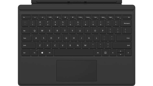 Microsoft Surface Pro Type Cover Microsoft Cover port UK English Black mobile device keyboard