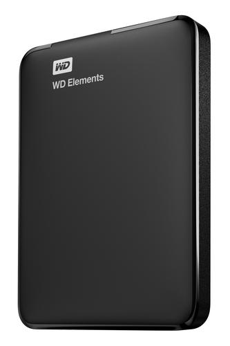Western Digital WD Elements Portable 4000GB Black external hard drive