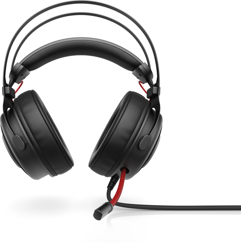 HP Omen 800 Headset Hoofdband 3,5mm-connector Zwart, Rood