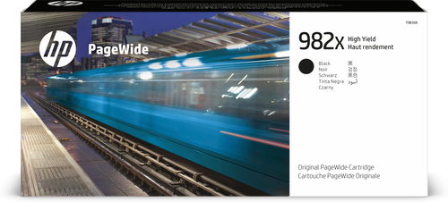 HP Originele 982X zwarte high-capacity PageWide cartridge