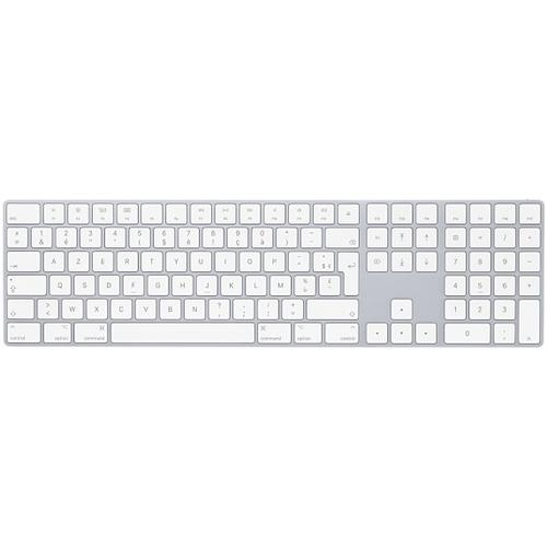 Apple MQ052F/A Bluetooth AZERTY French White keyboard