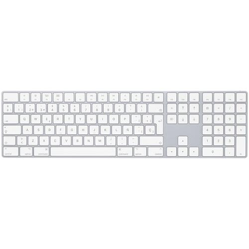 Apple Magic Bluetooth QWERTY Spanish White keyboard