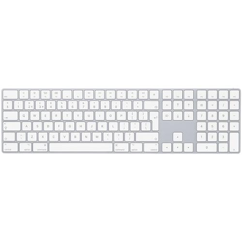 Apple Magic Bluetooth QWERTY Danish White keyboard