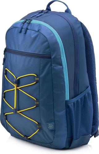 HP Active (Navy Blue/Yellow) Stof/Weefsel Blauw, Geel rugzak