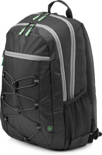 HP Active (Black/Mint Green) rugzak Stof/Weefsel Zwart/Groen