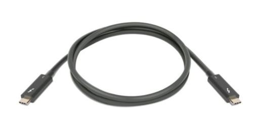 Lenovo 4Z50P35645 Thunderbolt cable 1 m 40 Gbit/s Black