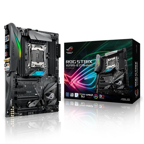 ASUS ROG STRIX X299-E GAMING moederbord LGA 2066 ATX Intel® X299