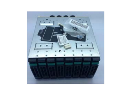 """Intel A2U8X25S3PHS drive bay panel 2.5"""" Carrierpaneel Zwart, Roestvrijstaal"""