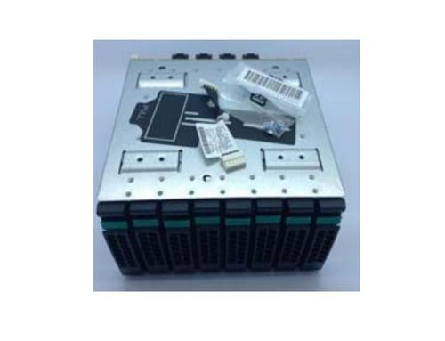 "Intel 2U Hot-swap 8x2.5 inch Dual Port Upgrade Drive Bay Kit A2U8X25S3DPDK2 2.5"""" Carrier panel Black,Stainless steel"