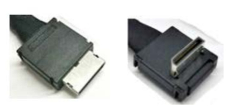 Intel Oculink Cable Kit OCuLink SFF-8611 OCuLink SFF-8611 Black cable interface/gender adapter