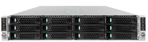 Intel H2312XXLR3 Rack 2130W Black,Silver computer case
