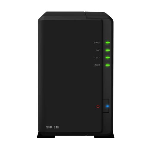 Synology NVR1218 Black network video recorder