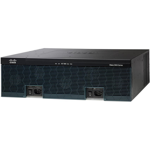 Cisco 3925 Ethernet LAN Black,Grey wired router