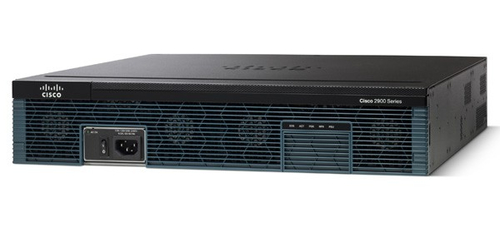 Cisco 2951 Ethernet LAN Black wired router