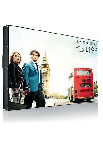 "Philips Signage Solutions BDL5588XC/02 beeldkrant 138,7 cm (54.6"") LED Full HD Digital signage flat panel Zwart"