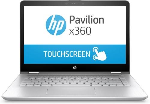 "HP Pavilion x360 14-ba016na Aluminium,Silver Hybrid (2-in-1) 35.6 cm (14"") 1920 x 1080 pixels Touchscreen 7th gen Intel® Core™"