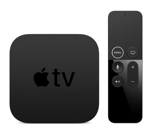 Apple TV 4K Black 4K Ultra HD 64 GB Wi-Fi Ethernet LAN