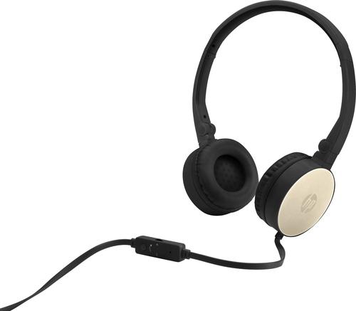 HP H2800 Headset Hoofdband 3,5mm-connector Zwart, Goud