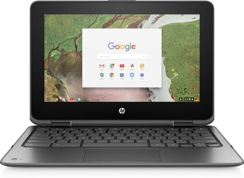 "HP Chromebook x360 11 G1 EE 29,5 cm (11.6"") Touchscreen HD Intel® Celeron® 8 GB LPDDR4-SDRAM 64 GB eMMC Chrome OS Zwart"