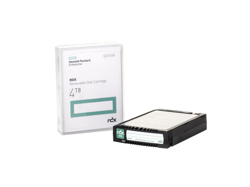 HP RDX 4TB Removable Disk Cartridge 4000GB