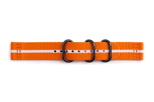 Samsung Premium Nato Watch strap Nylon Oranje