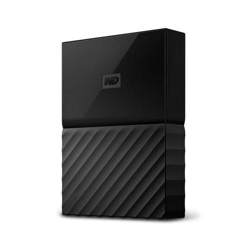 Western Digital MY PASSPORT GAME externe harde schijf 2000 GB Zwart