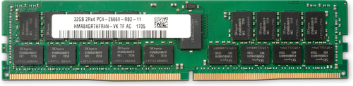 HP 32GB DDR4 2666MHz geheugenmodule 1 x 32 GB ECC