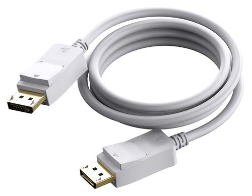 Vision TC 3MDP 3m DisplayPort DisplayPort White DisplayPort cable