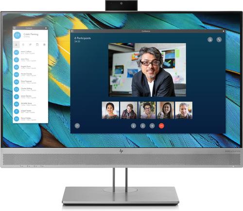 "HP EliteDisplay E243m 23.8"" Full HD IPS Zwart, Zilver computer monitor"