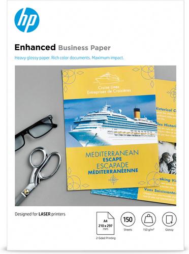 HP Professional Laser Paper, glanzend, 150 gr/m², 150 vel, A4/210 x 297 mm
