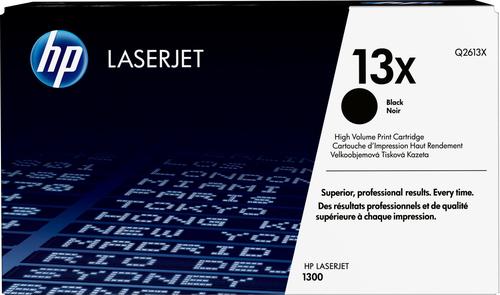 HP 13X originele high-capacity zwarte LaserJet tonercartridge