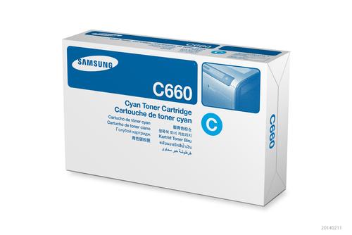 Samsung CLP-C660B 1 stuk(s) Origineel Cyaan
