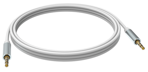 Vision TC 5M3.5MMP White audio cable