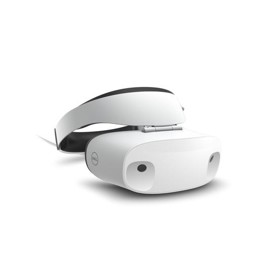 DELL Visor Op het hoofd gedragen beeldscherm (HMD) Wit