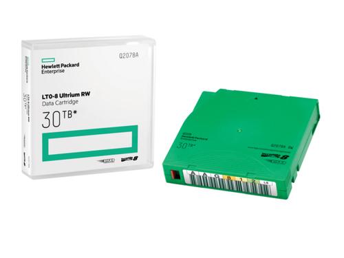 Hewlett Packard Enterprise LTO-8 Ultrium 30TB RW Data Cartridge 12000 GB 1,27 cm