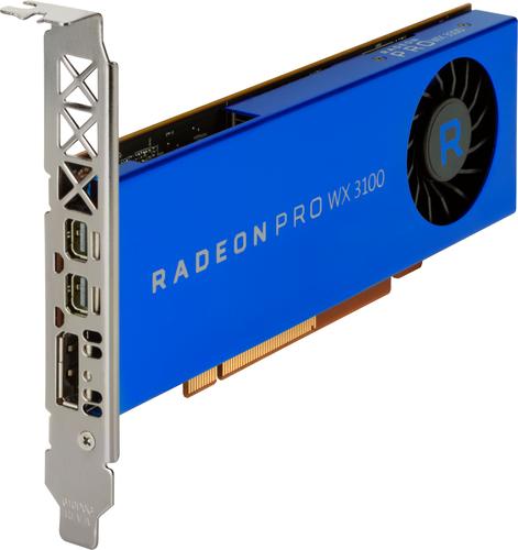 HP AMD Radeon Pro WX 3100 4-GB grafische kaart