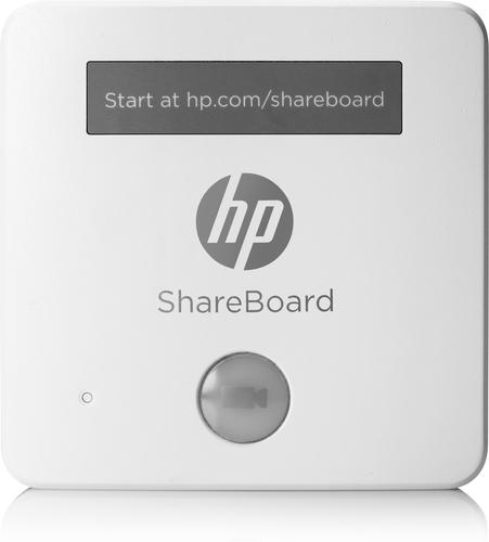 HP ShareBoard webcam