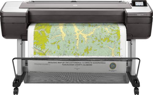 HP Designjet T1700 44-in grootformaat-printer Thermische inkjet Kleur 2400 x 1200 DPI 1118 x 1676 mm