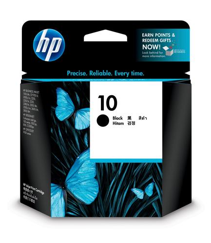 HP 10 ink cartridge 1 pc(s) Original Standard Yield Black