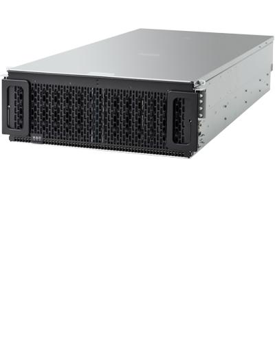 Western Digital Ultrastar Data102 disk array 720 TB Rack (4U) Zwart, Grijs
