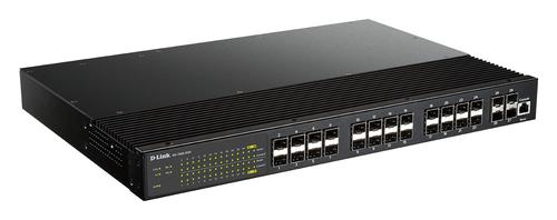 D-Link DIS-700G-28XS Managed L2+ 1U Black network switch