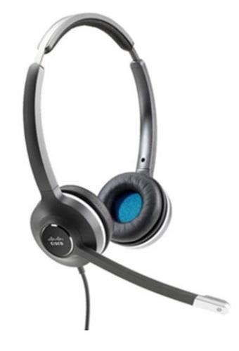 Cisco 532 Headset Hoofdband Zwart, Grijs