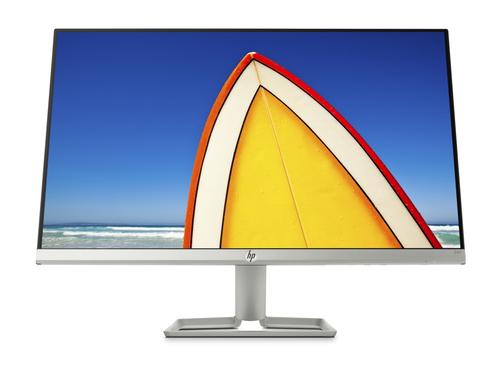 "HP 24f LED display 60,5 cm (23.8"") Full HD Flat Zwart, Zilver"