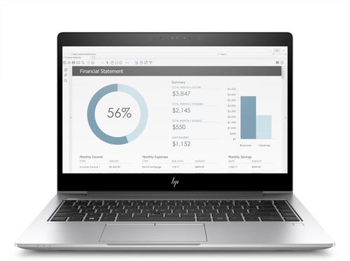 "HP EliteBook 755 G5 Silver Notebook 39.6 cm (15.6"") 1920 x 1080 pixels AMD Ryzen 5 8 GB DDR4-SDRAM 256 GB SSD Windows 10 Pro"