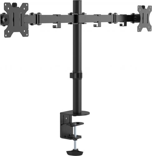 "Vision VFM-DPD2B monitor mount / stand 41.9 cm (16.5"") Clamp Black"