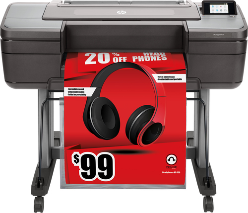 HP Designjet Z6 grootformaat-printer Inkjet Kleur 2400 x 1200 DPI A1 (594 x 841 mm)