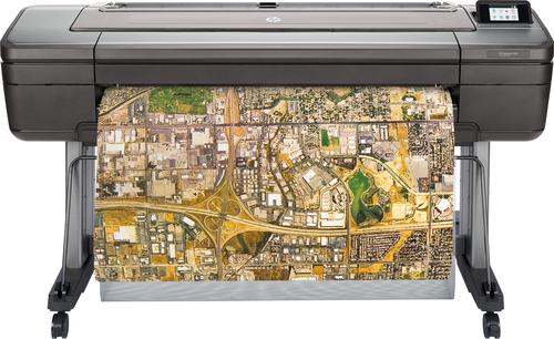 HP Designjet Z6dr 44-in PostScript grootformaat-printer Thermische inkjet Kleur 2400 x 1200 DPI 1118 x 1676 mm Ethernet LAN